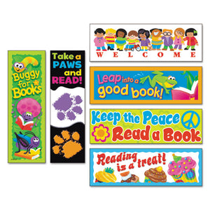 ESTEPT12906 - Bookmark Combo Packs, Celebrate Reading Variety #1, 2w X 6h, 216-pack