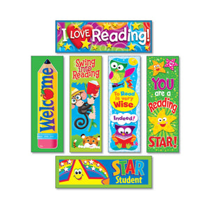 ESTEPT12907 - Bookmark Combo Packs, Reading Fun Variety Pack #2, 2w X 6h, 216-pack