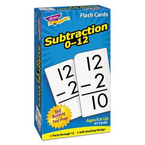 ESTEPT53103 - Skill Drill Flash Cards, 3 X 6, Subtraction