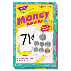 ESTEPT58003 - Match Me Cards, Money-Us Currency, 52 Cards, Ages 6 And Up