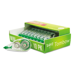 "ESTOM68722 - Mono Mini Correction Tape, 1-6"" X 315"", Non-Refillable, 10-pack"
