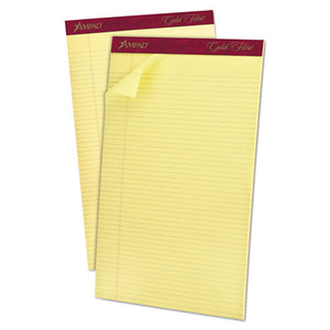 ESTOP20034 - Gold Fibre Pads, 8 1-2 X 14, Canary, 50 Sheets, Dozen