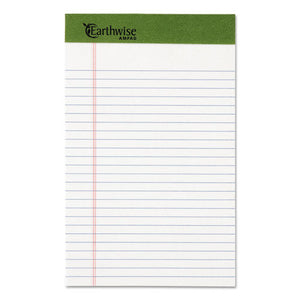 ESTOP20152 - Earthwise By Ampad Recycled Writing Pad, Narrow, 5 X 8, White, Dozen
