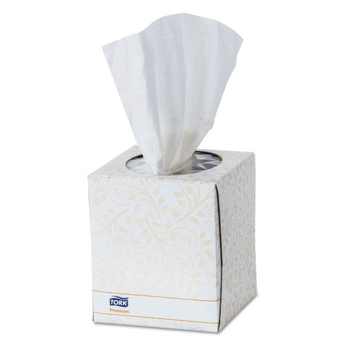 "ESTRKTF6910A - PREMIUM FACIAL TISSUE, 2-PLY, WHITE, 8"" X 8"", 94 SHEETS-BOX, 36BX-CARTON"