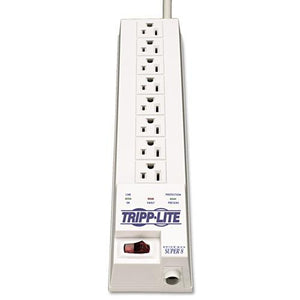 ESTRPSK66 - Sk6-6 Protect It! Surge Suppressor, 8 Outlets, 8 Ft Cord, 1080 Joules, White