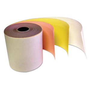 "ESTST341510 - Carbonless Receipt Rolls, 3-Ply, 3"" X 67 Ft, White-canary-pink, 60-carton"
