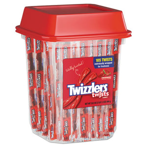 ESTWZ51902 - Strawberry Twizzlers Licorice, Individually Wrapped, 2lb Tub