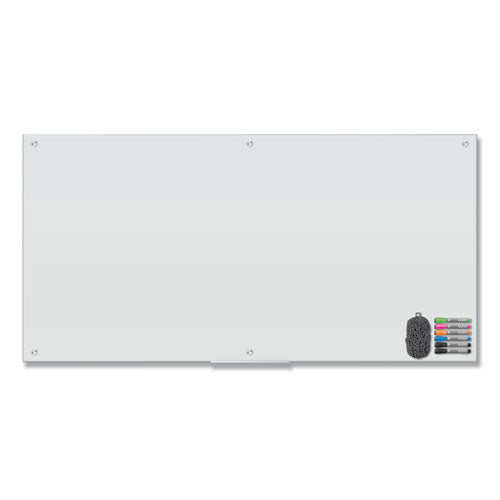 U Brands Magnetic Glass Dry Erase Board Value Pack