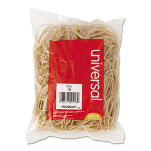 ESUNV00418 - Rubber Bands, Size 18, 3 X 1-16, 400 Bands-1-4lb Pack