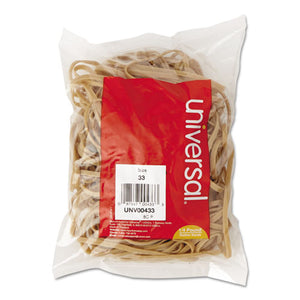 ESUNV00433 - Rubber Bands, Size 33, 3-1-2 X 1-8, 160 Bands-1-4lb Pack