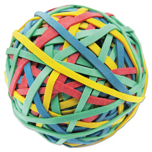 "ESUNV00460 - Rubber Band Ball, 3"" Size, 2 3-4"" Length, 260 Bands"