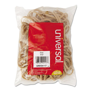 ESUNV04117 - Rubber Bands, Size 117, 7 X 1-8, 50 Bands-1-4lb Pack