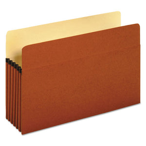 ESUNV15363 - 5 1-4 Inch Expansion File Pockets, Straight, Legal, Redrope-manila, 10-box