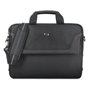 "ESUSLCLA1164 - Pro Slim Brief, 16"", 15 1-2"" X 2"" X 11 1-2"", Black"