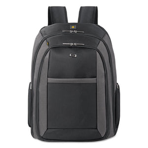 "ESUSLCLA7034 - Pro Checkfast Backpack, 16"", 13 3-4"" X 6 1-2"" X 17 3-4"", Black"