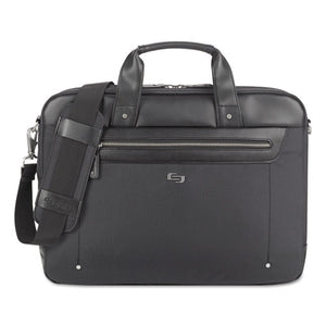 "ESUSLEXE1504 - Irving Briefcase, 16.54"" X 2.36"" X 13.39"", Polyester, Black"