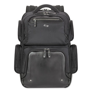 "ESUSLEXE7504 - Lexington Backpack, 16.54"" X 4.33"" X 18.5"", Polyester, Black"