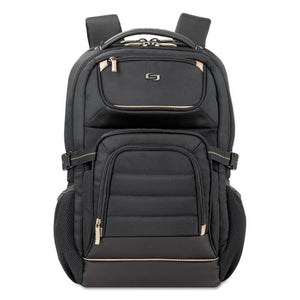 "ESUSLPRO7424 - Pro Backpack, 17.3"", 12 1-4"" X 6 3-4"" X 17 1-2"", Black"