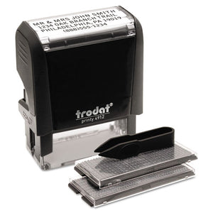 ESUSS5915 - Self-Inking Do It Yourself Message Stamp, 3-4 X 1 7-8