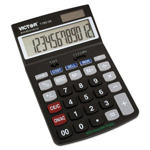 ESVCT11803A - 1180-3a Antimicrobial Desktop Calculator, 12-Digit Lcd