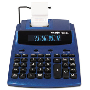 ESVCT12253A - 1225-3a Antimicrobial Two-Color Printing Calculator, Blue-red Print, 3 Lines-sec
