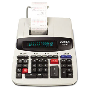 ESVCT1297 - 1297 Two-Color Commercial Printing Calculator, Black-red Print, 4 Lines-sec