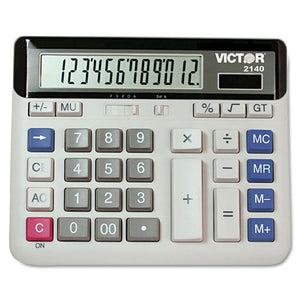 ESVCT2140 - 2140 Desktop Business Calculator, 12-Digit Lcd