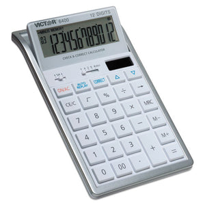 ESVCT6400 - 6400 Desktop Calculator, 12-Digit Lcd