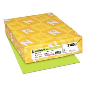 ESWAU21859 - Color Paper, 24lb, 8 1-2 X 11, Vulcan Green, 500 Sheets