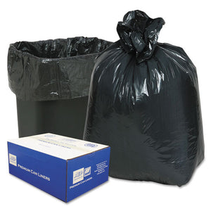 ESWBI243115B - 2-Ply Low-Density Can Liners, 16gal, .6mil, 24 X 33, Black, 500-carton