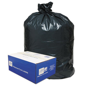 ESWBI385822G - 2-Ply Low-Density Can Liners, 55-60gal, .9mil, 38 X 58, Black, 100-carton