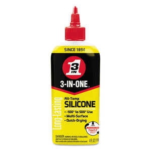 ESWDF120008CT - 3-In-One Professional Silicone Lubricant, 4 Oz Bottle, 12-ct