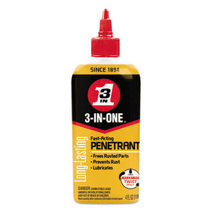 ESWDF120015 - 3-In-One Professional High-Performance Penetrant, 4 Oz Bottle
