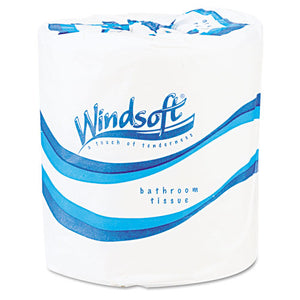 ESWIN2200 - Single Roll Two Ply Premium Bath Tissue, 500 Sheets-roll, 96 Rolls-carton