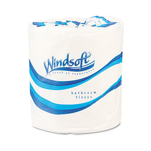 ESWIN2210 - Single Roll One-Ply Premium Bath Tissue, 1000 Sheets-roll, 96 Rolls-carton