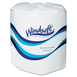 ESWIN2400 - Single Roll Two Ply Premium Bath Tissue, 24 Rolls-carton