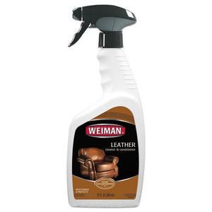 ESWMN107EA - LEATHER CLEANER AND CONDITIONER, FLORAL SCENT, 22 OZ TRIGGER SPRAY BOTTLE