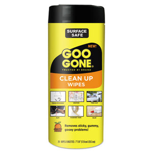 ESWMN2000 - Clean Up Wipes, 8 X 7, Citrus Scent, White, 24-canister, 4 Canister-carton