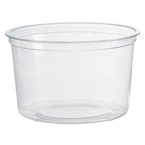 ESWNAAPCTR16 - Deli Containers, Clear, 16oz, 50-pack, 10 Packs-carton