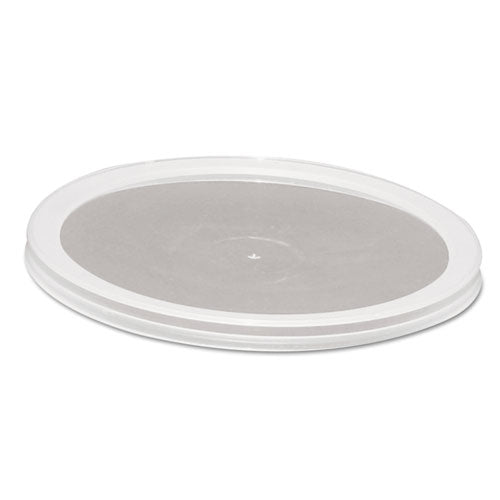 ESWNAAPCTRL409PP - Over-Cap-Style Deli Container Lids, Clear, 50-pack, 10 Pack-carton