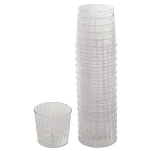 ESWNARSCCR91516 - Classicware Tumblers, 9 Oz, Plastic, Clear, Rocks Glass, 16-bag, 15 Bag-carton