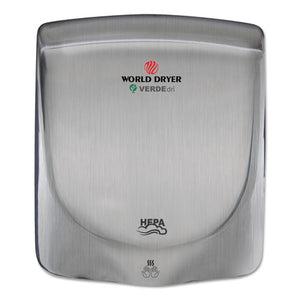 ESWRLQ973A - Verdedri Hand Dryer, Stainless Steel, Brushed