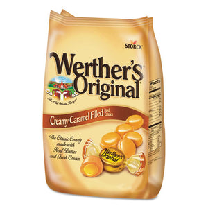 ESWRT39870 - Hard Candies, Caramel W-caramel Filling, 30 Oz Bag
