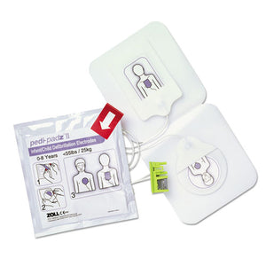 ESZOL8900081001 - Pedi-Padz Ii Defibrillator Pads, Children Up To 8 Years Old, 2-Year Shelf Life