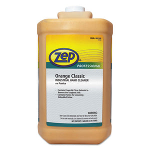 ESZPE1046475 - INDUSTRIAL HAND CLEANER, ORANGE, 1 GAL BOTTLE, 4-CARTON