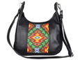 One of a Kind Ava Hobo Black Leather No. 2CTQ