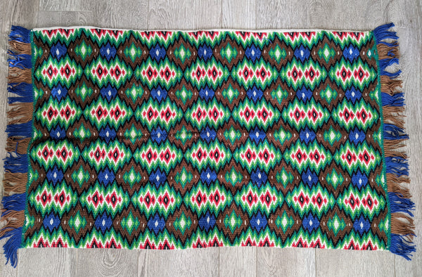 Vintage Handwoven Textile Wall Hanging No. 7