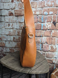 One of a Kind Ava Hobo Tan Leather No. KF5D (OLD STYLE)