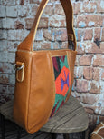 One of a Kind Ava Hobo Tan Leather No. CV7H (OLD STYLE)