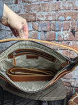 One of a Kind Ava Hobo Tan Leather No. KF8H (OLD STYLE)